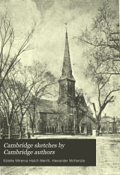 Cambridge Sketches by Cambridge Authors