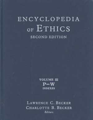 Encyclopedia of Ethics  P W PDF