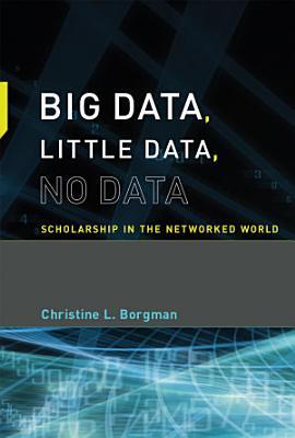Big Data  Little Data  No Data