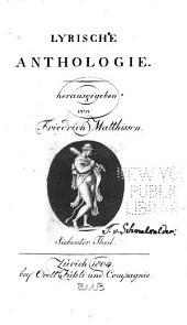 Lyrische Anthologie: Bände 7-8