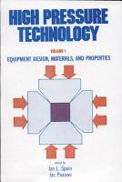 High Pressure Technology PDF