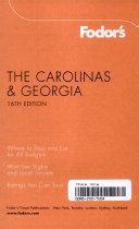 Fodor s The Carolinas   Georgia PDF