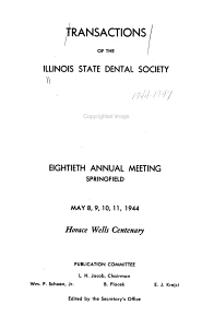 Transactions of the Illinois State Dental Society