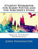 Student Workbook for Harry Potter and the Sorcerer's Stone