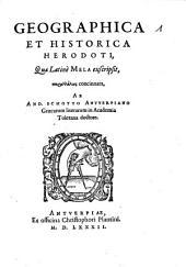 Geographica et historica Herodoti