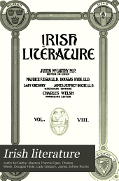 Irish literature: Volume 8