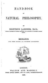 Hand-book of Natural Philosophy: Mechanics
