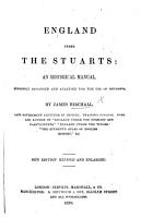 England under the Stuarts     New edition  revised and enlarged PDF