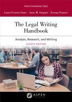 The Legal Writing Handbook PDF