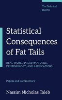 Statistical Consequences of Fat Tails