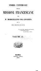 Storia universale delle missioni francescane: Volume 3