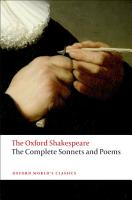 The Complete Sonnets and Poems PDF