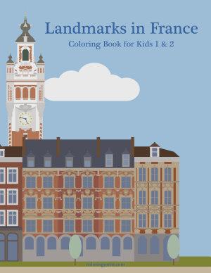 Landmarks in France Coloring Book for Kids 1   2