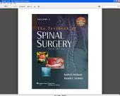 The Textbook of Spinal Surgery: Edition 3