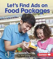 Let's Find Ads on Food Packages