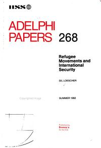 Refugee Movements and International Security PDF