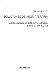 Soluciones De Aromaterapia  Aromatherapy Solutions PDF