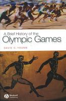 A Brief History of the Olympic Games PDF