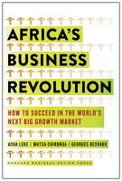 Africa s Business Revolution PDF