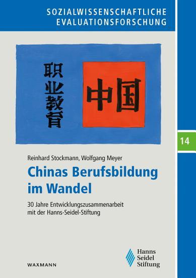 Chinas Berufsbildung im Wandel PDF