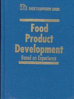Food Product Development PDF
