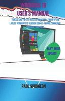 Windows 10 USER s Manual