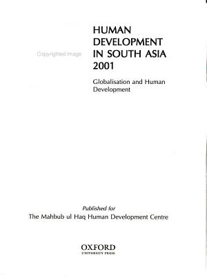Human Development in South Asia 2001 PDF