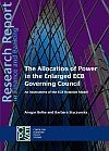 The Allocation of Power in the Enlarged ECB Governing Council PDF