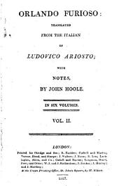 Orlando Furioso: Volume 2
