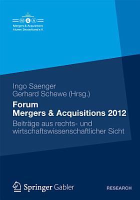 Forum Mergers   Acquisitions 2012 PDF