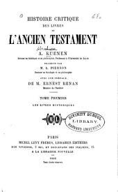 Histoire critique des livres de l'Ancien Testament: Volume2