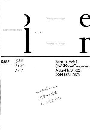Fontane Bl  tter PDF
