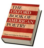 The Oxford Book of American Poetry PDF