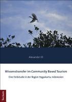 Wissenstransfer im Community Based Tourism PDF
