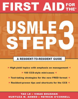 First Aid for the USMLE Step 3 PDF