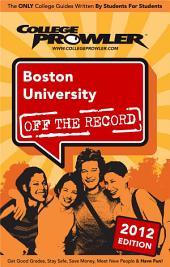 Boston University 2012