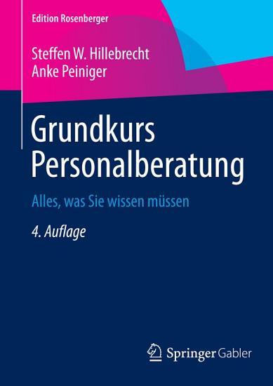 Grundkurs Personalberatung PDF