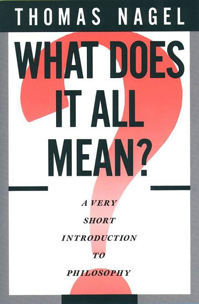 Download What Does It All Mean  Book