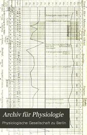 Archiv für Physiologie: Band 1899
