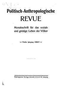 Politisch Anthropologische Revue PDF