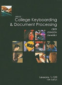 Gregg College Keyboarding   Document Processing PDF