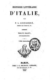 Histoire littéraire d'Italie: Volume13