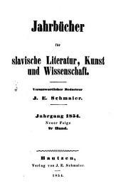 Jahrbücher für slawische Literatur, Kunst und Wissenschaft: Band 2