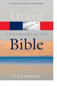 A Dictionary of the Bible Book