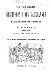 Tafereelen uit de geschiedenis des vaderlands