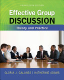 Effective Group Discussion  Theory and Practice PDF