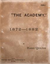 The Academy, 1872-1882