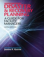 Disaster   Recovery Planning  A Guide for Facility Managers  Sixth Edition PDF