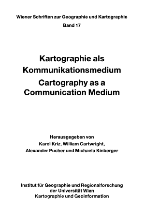 Kartographie als Kommunikationsmedium PDF
