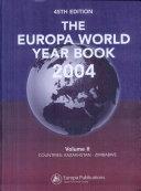 The Europa World Year  Kazakhstan   Zimbabwe